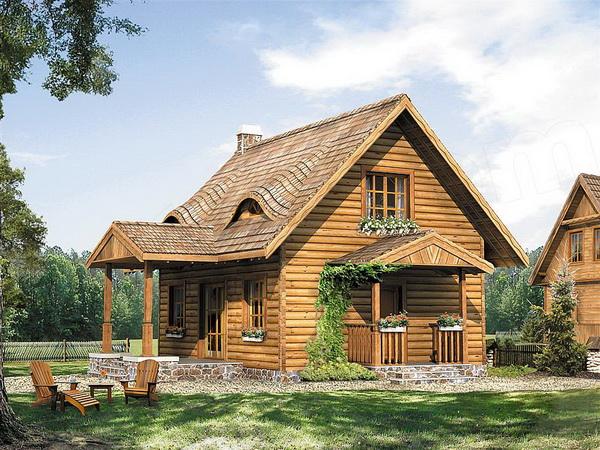 บ้านไม้สไตล์ยุโรป